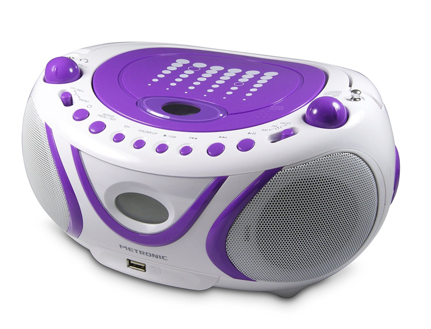 Metronic POP Radiorekorder CD-Player mit MP3 Wiedergabe )