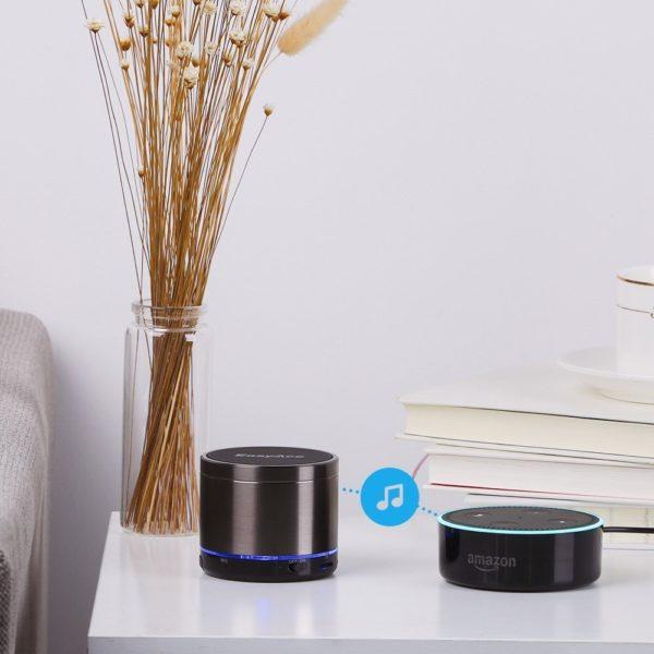 EasyAcc Mini 2 Portabler 4.1 Bluetooth Lautsprecher mit 5W Treiber