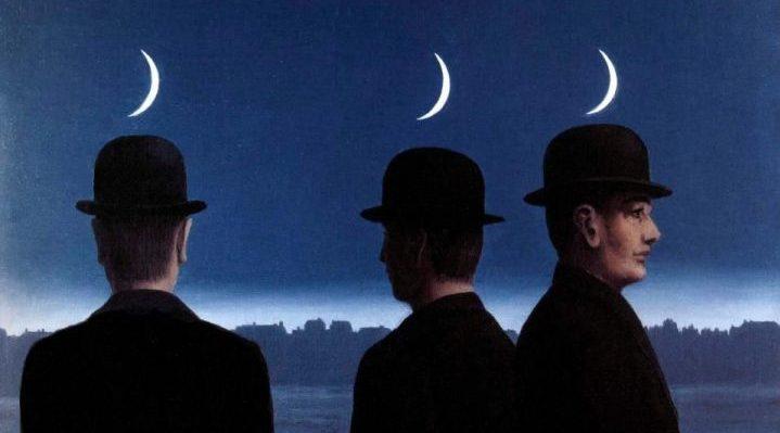 Les Mystères de l'Horizon by Magritte