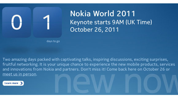 Nokia-World-2011 Nokia World 2011 - Was wird's geben? Nokia Technology