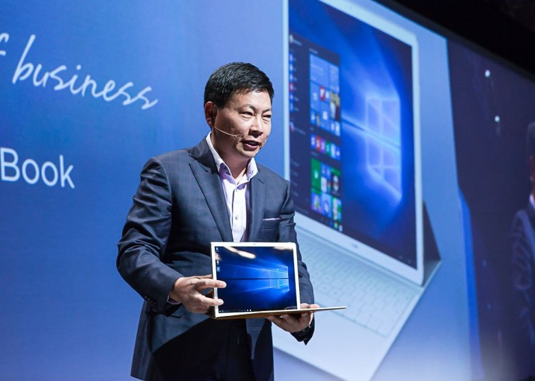 huawei-mate-book MWC 2016: Huawei MateBook soll Surface Pro 4 und iPad Pro angreifen Computer Gadgets Hardware Microsoft Tablet YouTube Videos