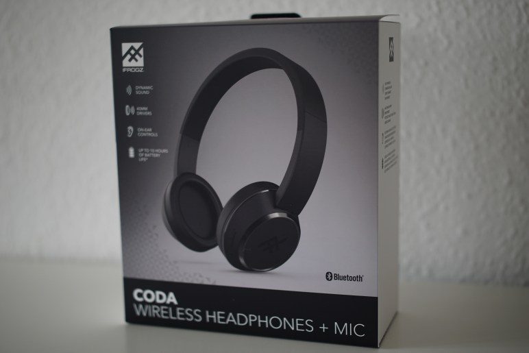 DSC01836-772x515 iFrogz Coda Wireless Headphones im Test Audio Entertainment Kopfhörer Over-Ear Reviews Testberichte