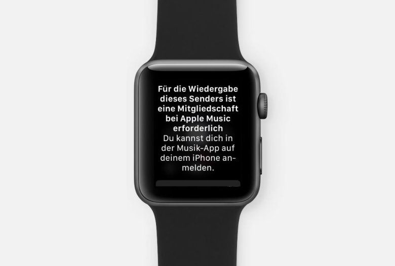 apple-music-abo-apple-watch watchOS 4.1 ausprobiert Apple iOS Audio Entertainment Gadgets Reviews Smartwatches Testberichte Wearables YouTube Videos