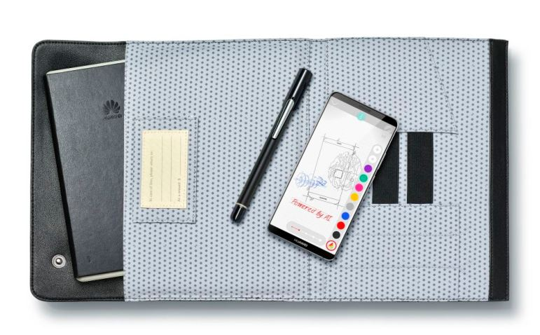HUAWEI Mate10 Pro und Moleskine Smart Writing Set