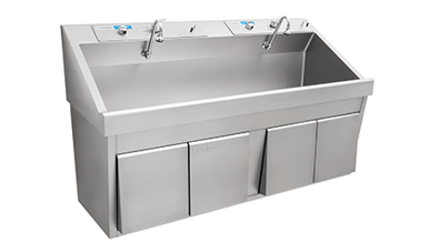 scrub sinks clinical sinks steris