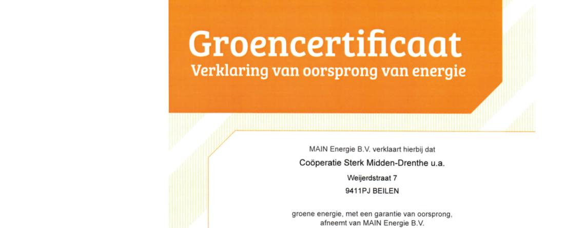 Sterk Midden-Drenthe gaat voor groen