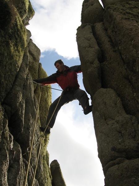 Pete on Lands End Long Climb