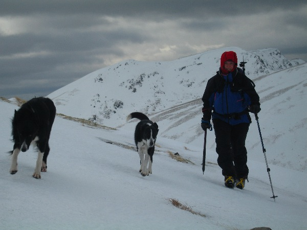 The approach to Beinn Mhanach