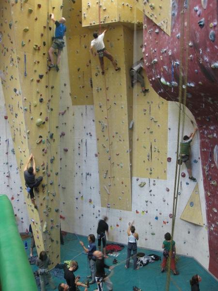 Les Houches Climbing Wall