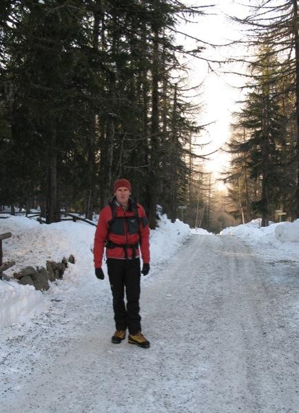 The road to La Crémerie