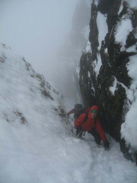 Chris and Nick in the gully