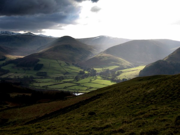 Vale of Loweswater from Darling fell