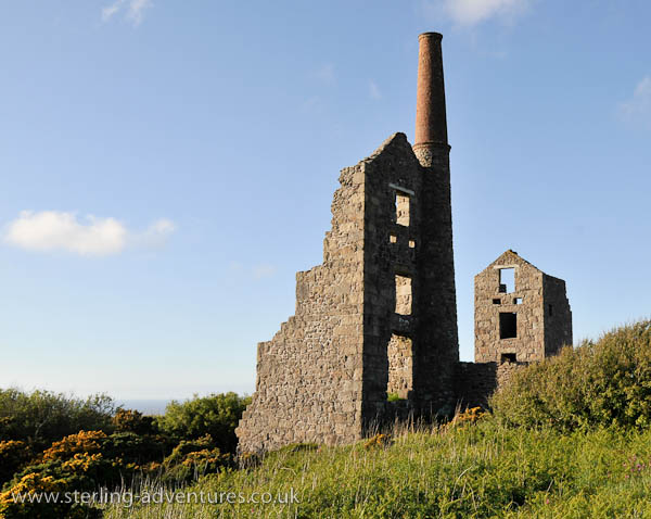 Carn Galver mine buildings, Bosigran