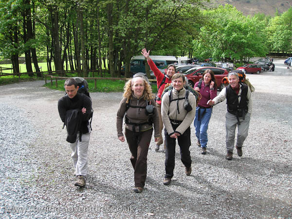 Heading off to White Ghyll