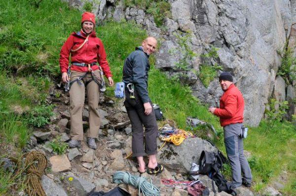 A happy Lofoten Islands team!