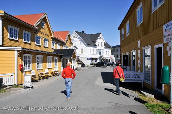 Henningsvaer main street
