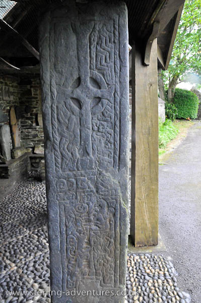 Kirk Maughold Parish Church Cross Shelter
