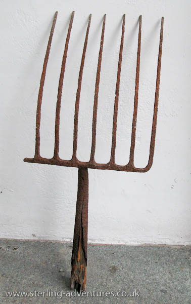 An ancient (?) pitch fork