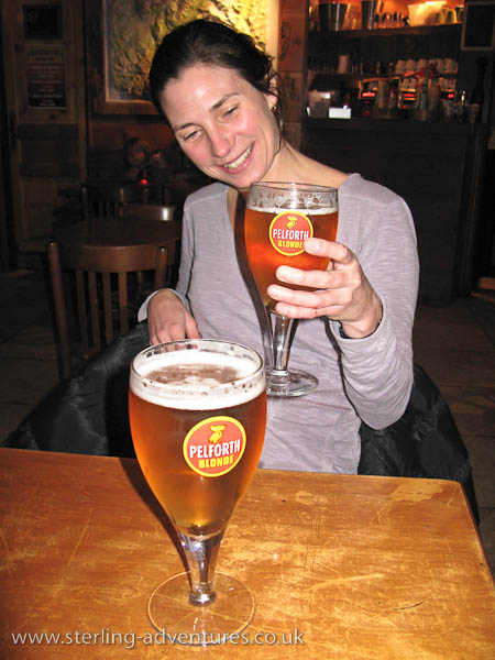Mmm, a nice beer!