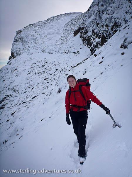 bowfell climbers approach