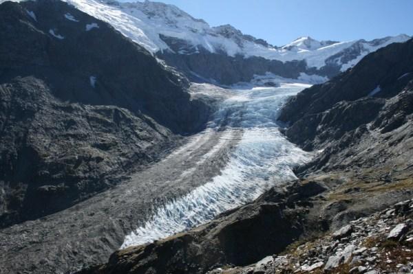 The Dart Glacier.