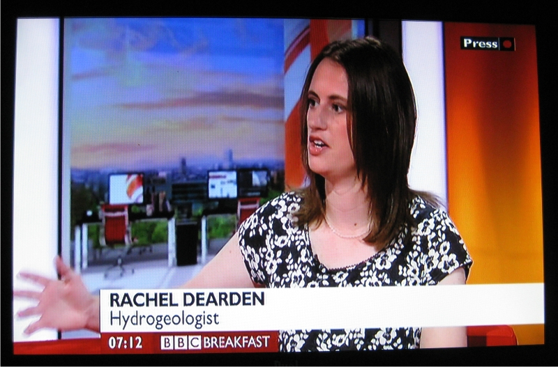 Appearing on BBC Breakfast