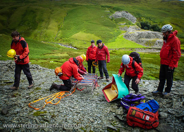My first day of Mountain Rescue team training…