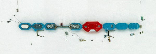 Aerial view of Halley VI