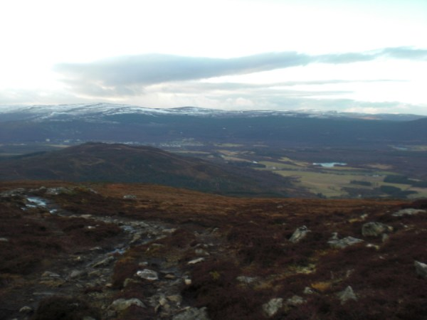 View from Craiggowrie, just north of Loch Morlich