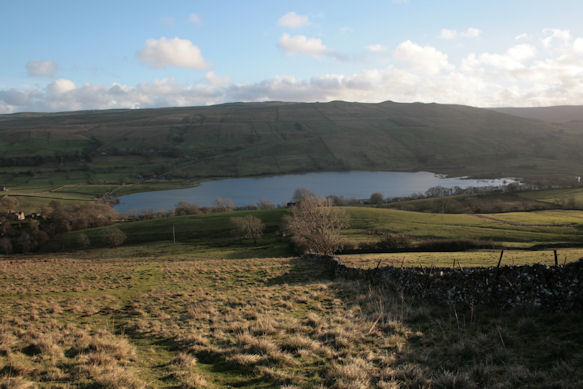 A view of Semer Water from the north