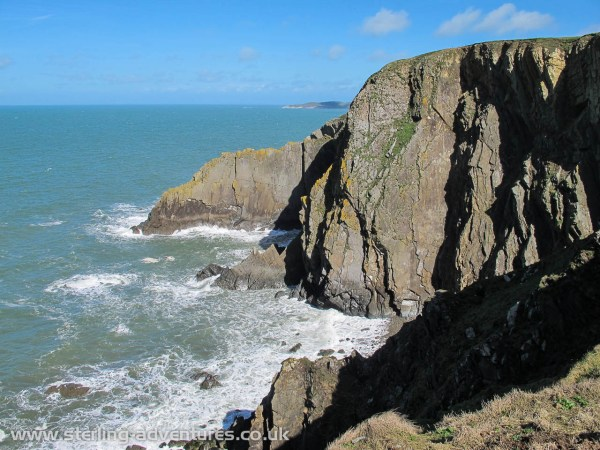 The best climbing at Baggy point was subject to access restrictions due to nesting birds