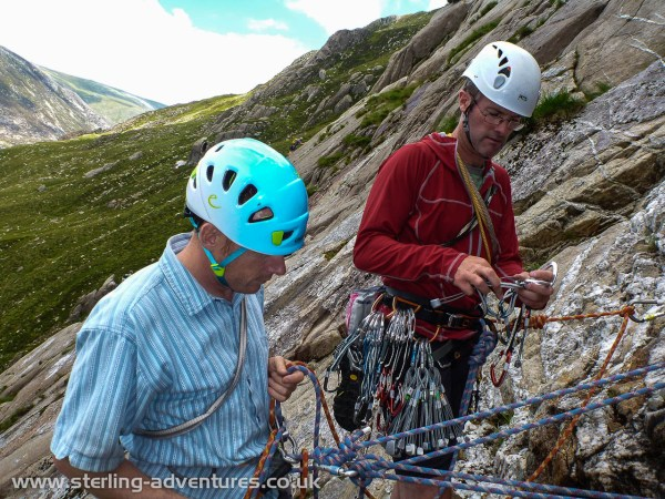 Learning techniques to teach climbing on the Idwal Slabs