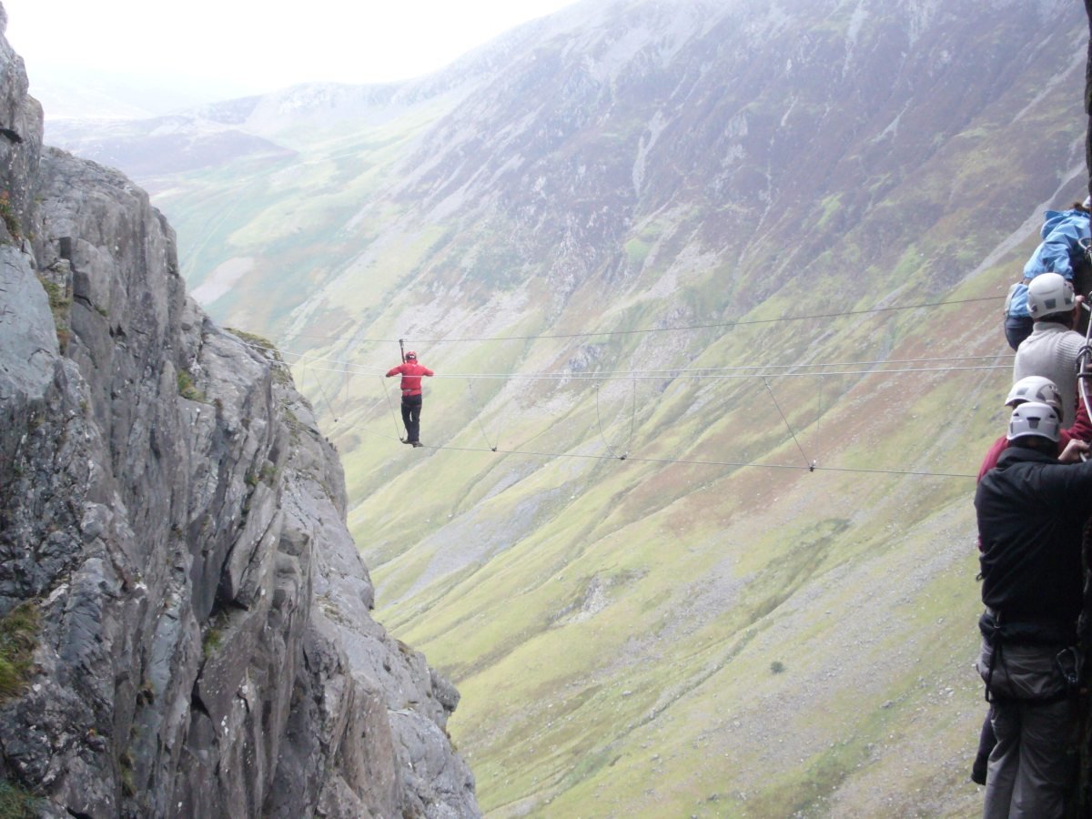 Via Ferrata 'Extreme' – Honister Pass
