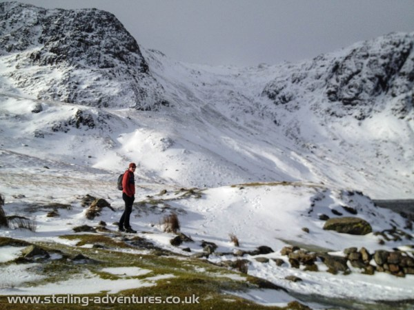 Pete near Stickle Tarn