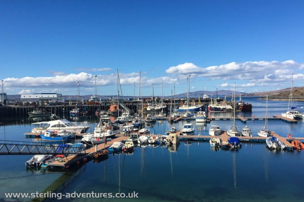 The marina at Mallaig
