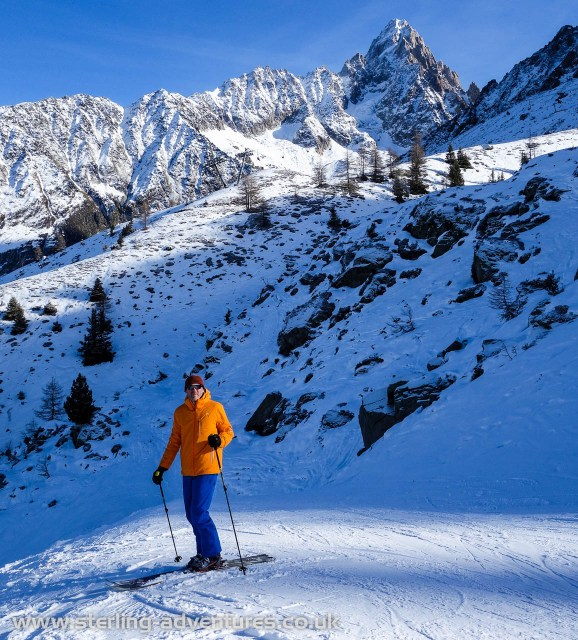 Skiing at Grand Montets