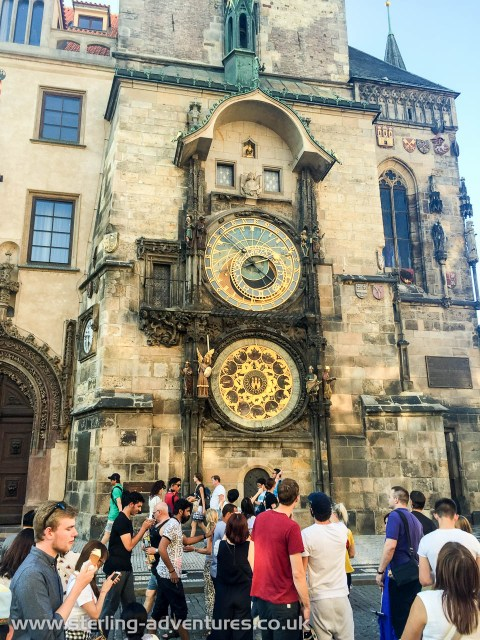 Perhaps one of the most famous things to see in Prague, the astronomical clock. We struggled to work out exactly how to read the clock as so little tied in with the actual time and date. But we think that was just us!