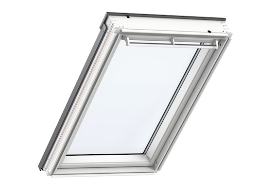 velux ggl mk08 2070 white paint laminated centre pivot roof window 78x140cm