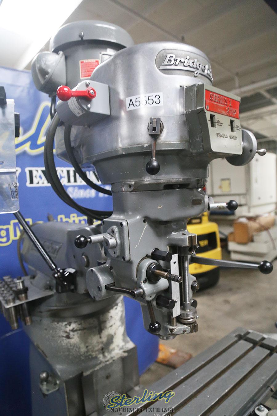 Used Bridgeport Vertical Milling Machine Sterling Machinery