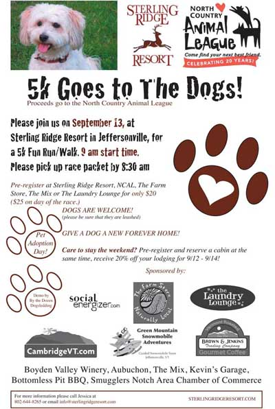 Read more about the article 5k Goes to the Dogs at Sterling Ridge
