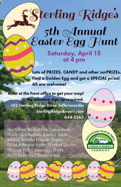 Sterling Ridge's 5th Easter Egg Hunt