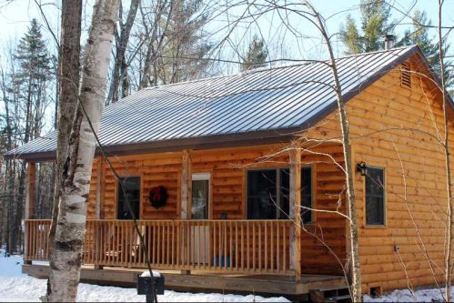 Rent a cabin in Vermont | Sterling Ridge Log Cabin Resort