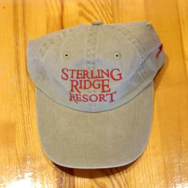 Ball cap with Sterling Ridge Resort