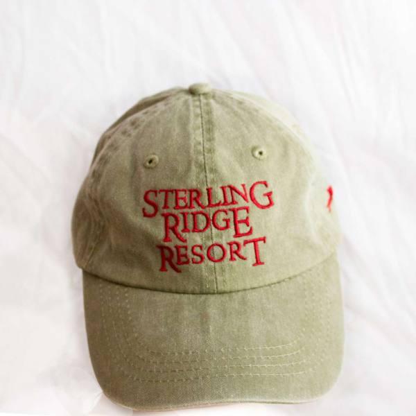 Sterling Ridge Resort Ball Cap, beige