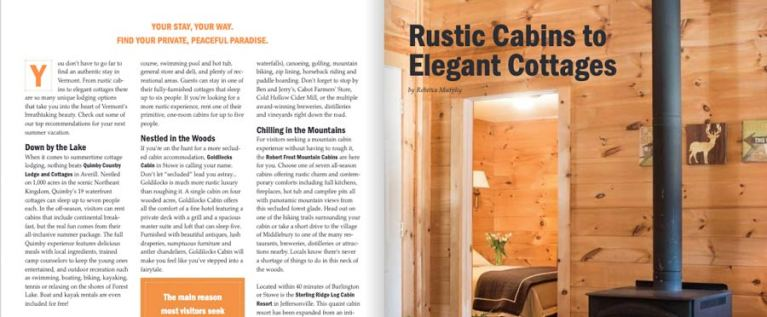 Read more about the article Rustic Cabins in Vermont | Vermont Vacation Guide 2019