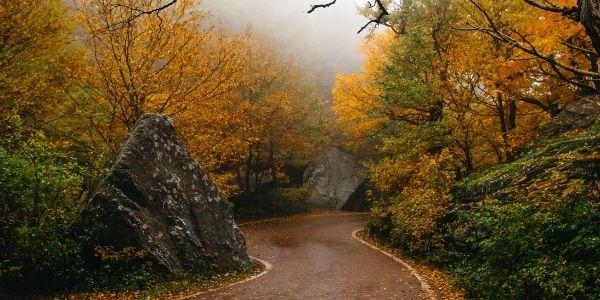 Vermont Fall Foliage: Smugglers Notch