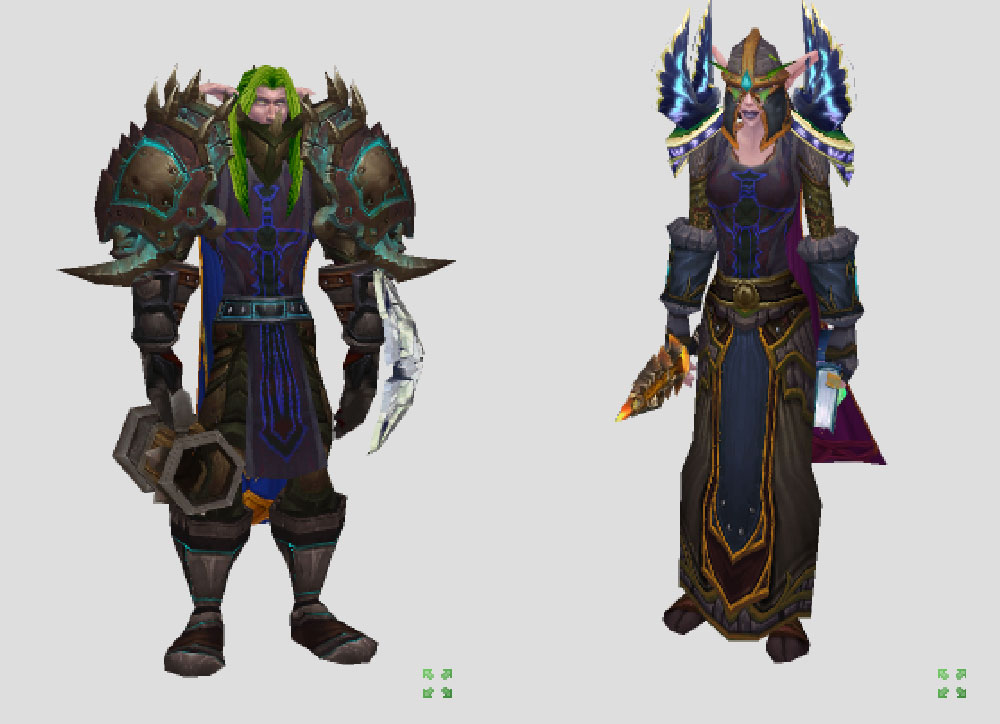 warcraft character