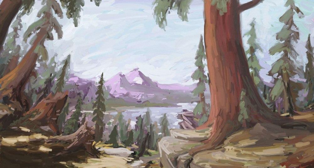 redwood dry lake