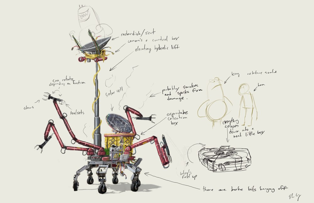 Malgor rover painting
