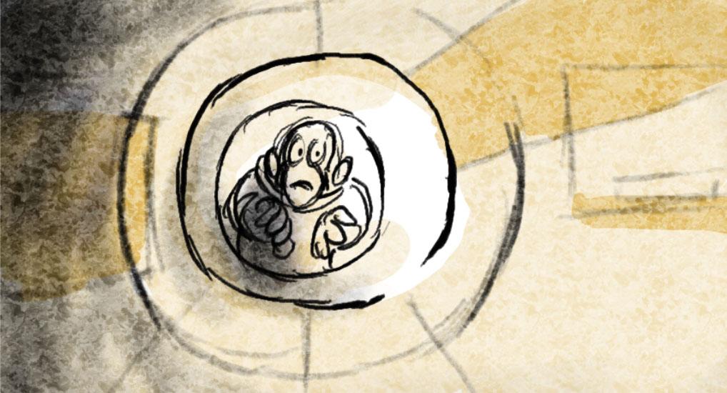 Space Chimps trip